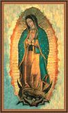Framed Our Lady Of Guadalupe Print | ShopMercy