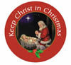 STOCKING STUFFERS - AUTO MAGNET - KEEP CHRIST IN CHRISTMAS | ShopMercy