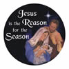 STOCKING STUFFERS - AUTO MAGNET - JESUS IS THE REASON | ShopMercy