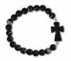 Black Agate Stretch bracelet | ShopMercy
