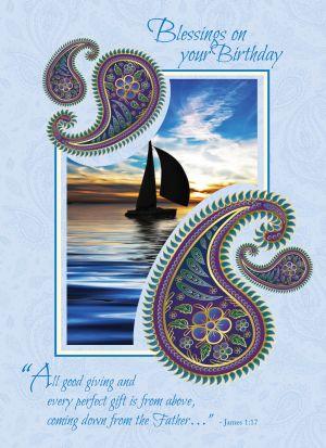 Sailboat Birthday Card | ShopMercy