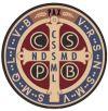 Benedictine Medal Decal | ShopMercy