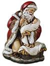 Adoring Santa Figurine | ShopMercy
