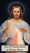 ALL - CONSECRATION TO DIVINE MERCY PRAYERCARD -  Shop Mercy