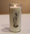 CANDLES - QUEEN OF THE ROSARY VOTIVE CANDLE | ShopMercy