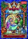 ALL - STAINED GLASS NATIVITY CHOCOLATE ADVENT CALENDAR -  Shop Mercy