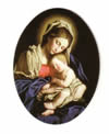 CHRISTMAS SALE - MADONNA & CHILD CHRISTMAS MAGNET | ShopMercy