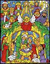 CHRISTMAS - COLORFUL NATIVITY ADVENT CALENDAR | ShopMercy