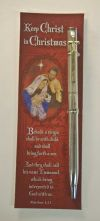 Keep Christ in Christmas Pen with Bookmark | ShopMercy