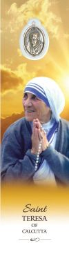 MEDALS - SAINT TERESA OF CALCUTTA BOOKMARK WITH MEDAL | ShopMercy