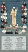 The 26 Champions of the Rosary with Names 10 x 18 Canvas, Gallery Wrap | ShopMercy