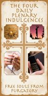 Jubilee Year - THE FOUR DAILY PLENARY INDULGENCES -  Shop Mercy