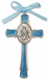CHILDREN - BLUE GUARDIAN ANGEL CROSS | ShopMercy