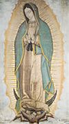 CANVAS - OUR LADY OF GUADALUPE 10 X 18 CANVAS, GALLERY WRAP | ShopMercy