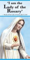 PAMPHLETS/PRAYERCARDS - I AM THE LADY OF THE ROSARY | ShopMercy