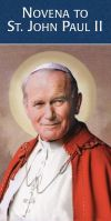 PAMPHLETS/PRAYERCARDS - ST. JOHN PAUL II NOVENA PAMPHLET | ShopMercy