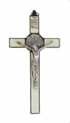 CRUCIFIXES - LUMINESCENT ST. BENEDICT CRUCIFIX | ShopMercy