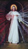 CLEARANCE - DIVINE MERCY IMAGE SKEMP POSTER | ShopMercy