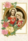 Two Hearts Gold Novena Card, 2010 | ShopMercy