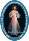 Divine Mercy Lapel Pin