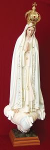 Our Lady of Fatima Pilgrim Virgin Statue | ShopMercy