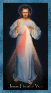 Nurses Chaplet Divine Mercy Emergency Prayer Card