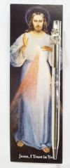 BOOKMARKS - DIVINE MERCY PEN WITH BOOKMARK | ShopMercy