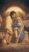 FATHER'S DAY - ST. JOSEPH 10 X 18 CANVAS, GALLERY WRAP | ShopMercy
