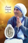 MEDALS - SAINT TERESA OF CALCUTTA PRAYERCARD WITH MEDAL | ShopMercy