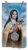 MEDALS - SAINT THÉRÈSE PRAYERCARD AND MEDAL SET | ShopMercy