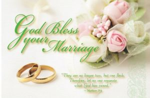 God Bless Your Marriage