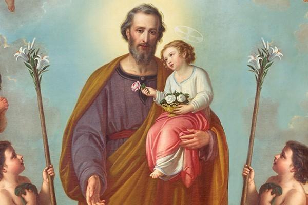 Letanias  y oraciones en honor a San José