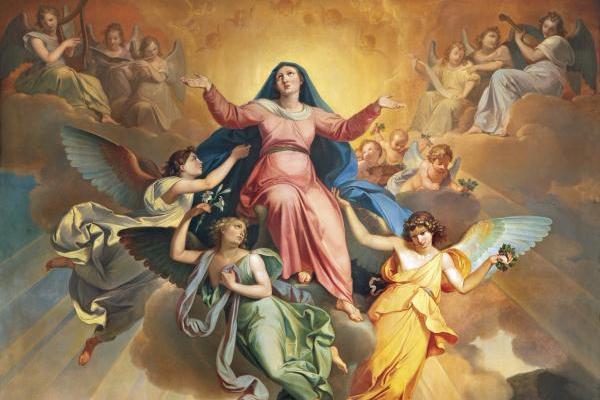 La Asunción de la Virgen María unos de los dogmas de fe de la iglesia católica
