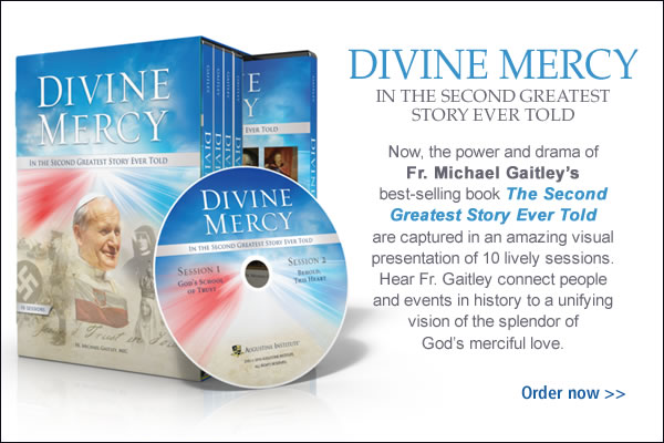Divine Mercy In The Second Greatest Story Ever Told DVD Set